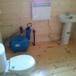 установка приборов в туалете