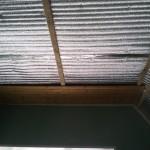утепление потолка мин.ватой и пенофолом с последующей отделкой вагонкой