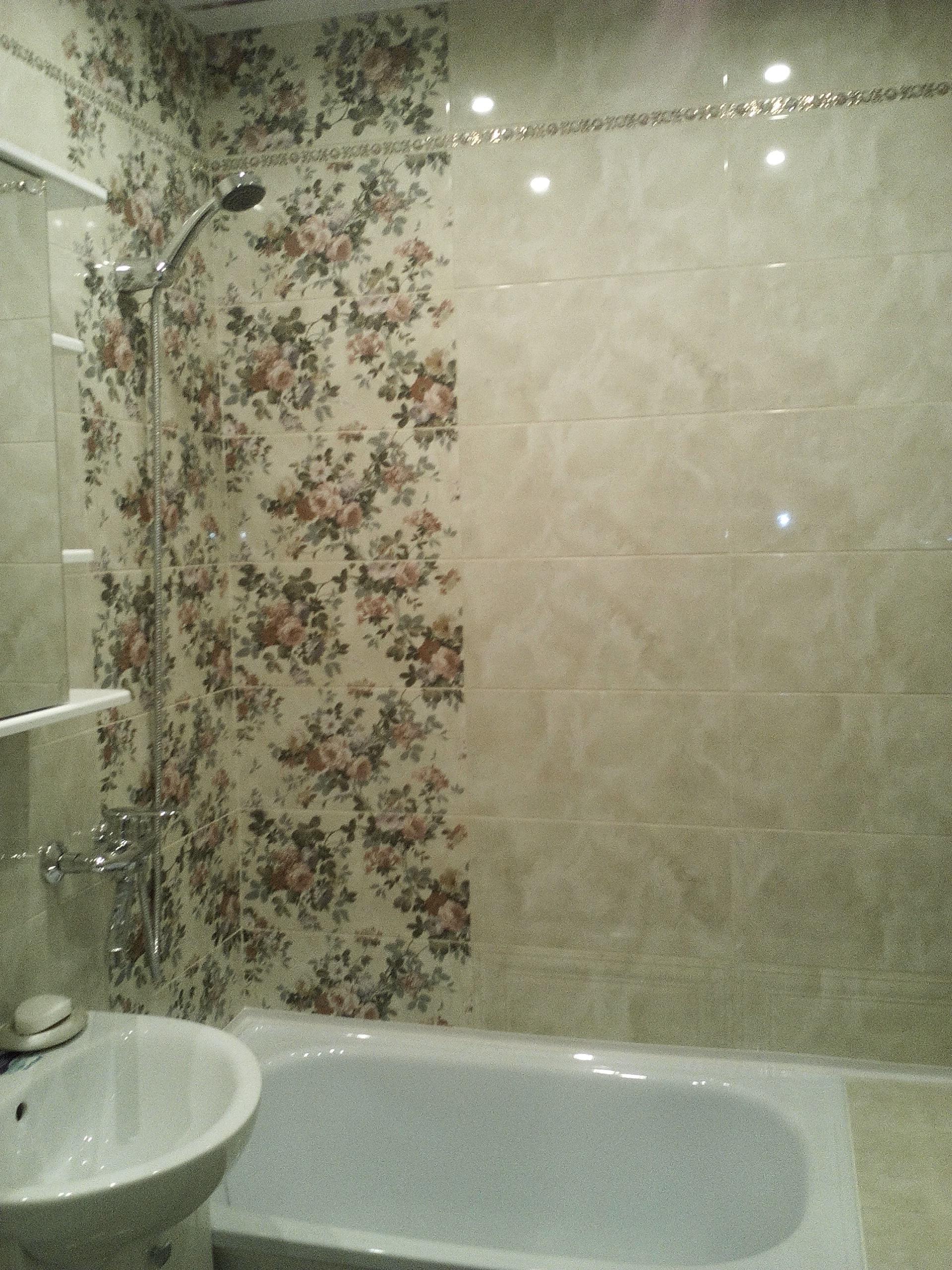 установка атрибутов ванной комнаты