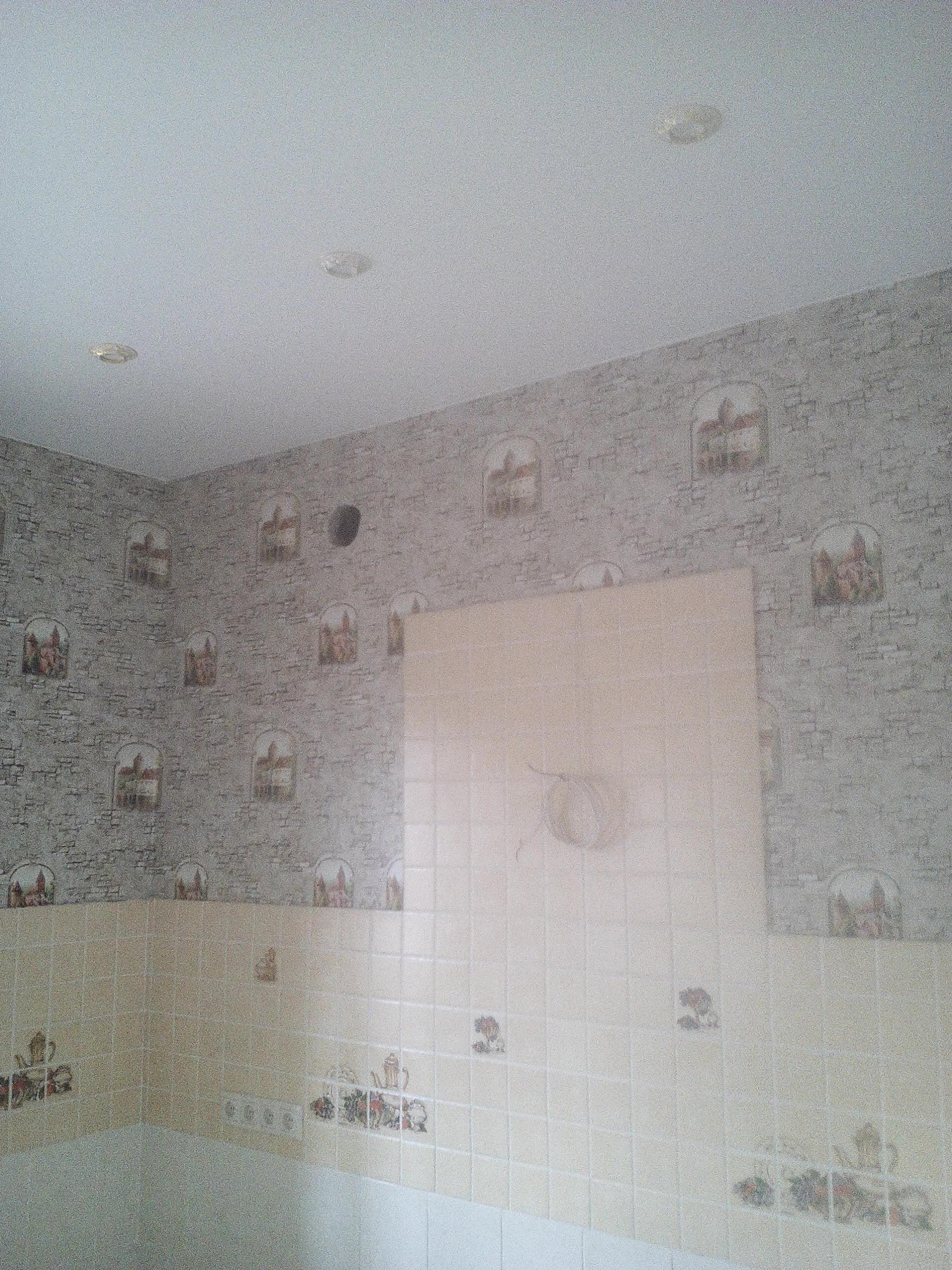 схема расположения светильников в потолке на кухне