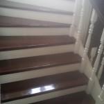 отделка деревянной лестницы