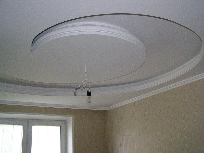 2-х уровневый потолок из гипсокартона