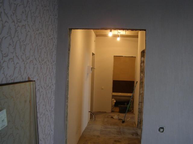подготовка двернного проема к установки двери